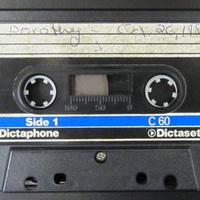 Dorothy, October 26, 1981 (Tape 1)
